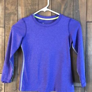 Xersion kids quick dry long sleeved shirt